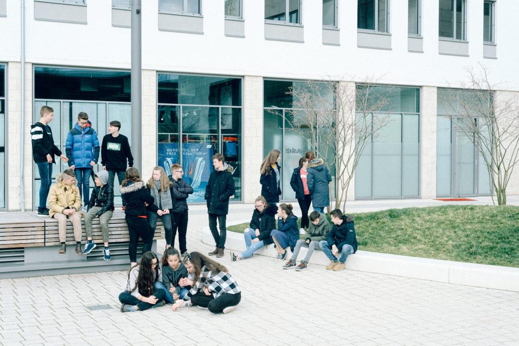Jugendweihe-Teilnehmer in Rheinland-Pfalz. Foto: Kate Schultze